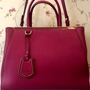 d523c2053667 Fendi · Fendi 2jours Magenta Pink Medium ...